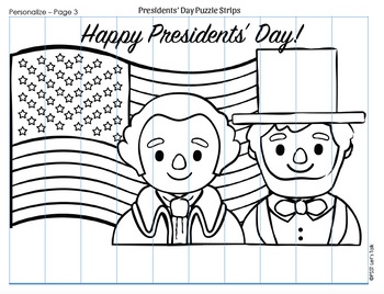 {FREE} Presidents' Day Puzzle Strips