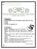 Procedural Reading Passage - Cake Mix Cookies Recipe