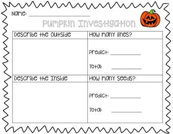 {FREE} Pumpkin Investigation