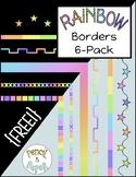 {FREE} Rainbow Borders 6-Pack