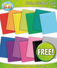 FREE Rainbow Paper Clipart Set {Zip-A-Dee-Doo-Dah Designs}
