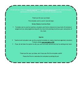 [FREE SAMPLE] Monthly Homework Agenda with Parent Signature