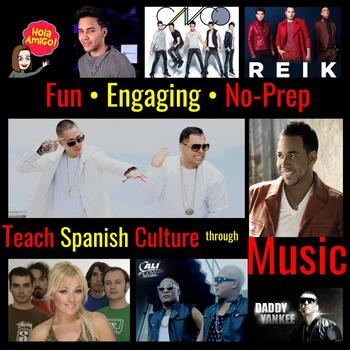**FREE SAMPLE** Simple, Fun, Engaging, No-Prep Cultural/Music Assignments!