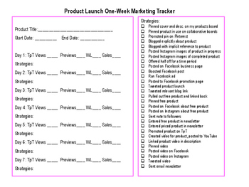 {FREE SAMPLER} TpT Seller Progress Planner