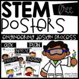 *FREE* STEM Posters (Engineering Design Process)