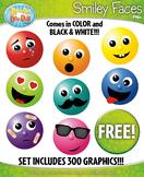 FREE Smiley Faces Clipart Mega Bundle {Zip-A-Dee-Doo-Dah Designs}