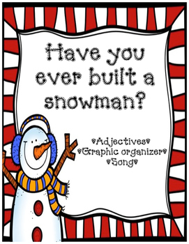 *FREE* Snowman Adjectives & Song