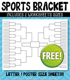 FREE Sports Bracket Worksheets {Zip-A-Dee-Doo-Dah Designs}