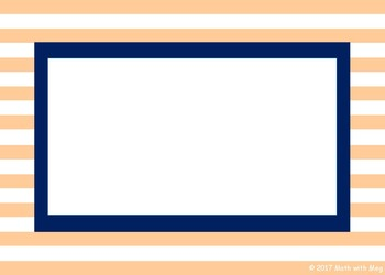 (FREE) Striped Labels in Black, Navy, Gray, Tan