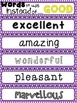 **FREE**  Synonym Flipbook - Words To Use Instead Of...