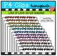 Lots of Little P4 LOVE Borders (P4 Clips Trioriginals Clip Art)
