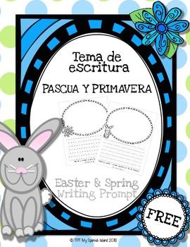 ~FREE~ Tema de escritura Pascua y Primavera