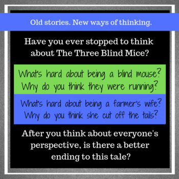 *FREE* Three Blind Mice: Analysis from Multiple Perspectives
