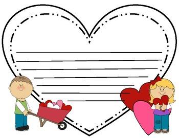 {FREE} Valentine Writing Paper