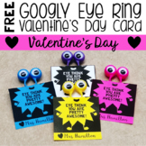 *FREE* Valentine's Day Cards {Use with Googly Eye Rings}