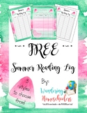 *~* FREE *~* Watermelon Summer Reading Log