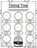 *FREE* Winter Telling Time Printable [No Prep!]