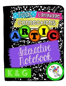 $$DollarDeals$$ Articulation Interactive Notebook Mini - K G
