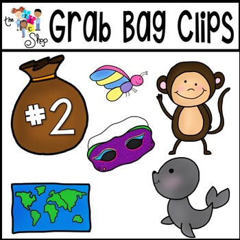 Grab Bag Clipart Set 2