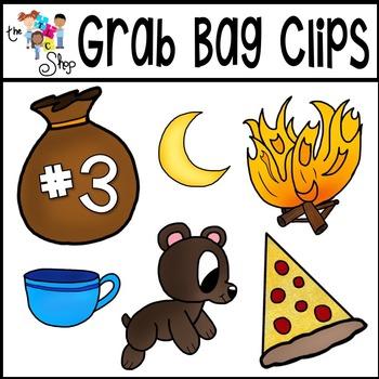 Grab Bag Clipart Set 3