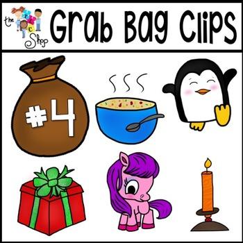 Grab Bag Clipart Set 4