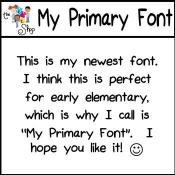 My Primary Font