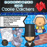Presidents' Day Cootie Catchers