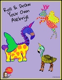 Roll & Draw Your Own Alebrije