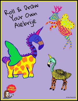 Roll & Draw Your Own Alebrije
