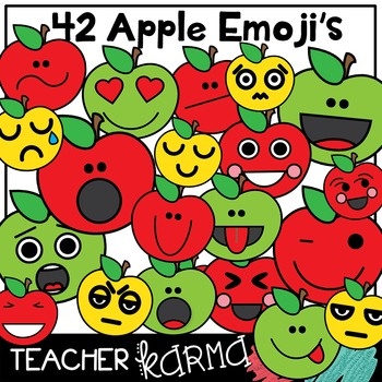 Apple Emoji * Thoughts, Feelings & Emotions Clipart