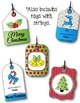 Christmas Gift Tags 2 Clipart ~ Commercial Use OK $$ DOLLA