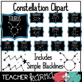 Constellation  / Star / Space Clipart