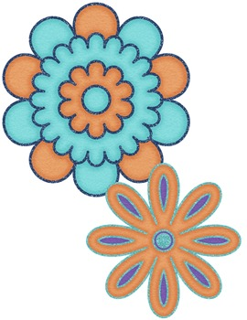 {FREE today} Flower Accents #1 Clipart ~ Commercial OK ~ Spring