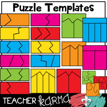Puzzle Templates Clipart * Make a Game