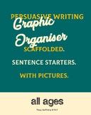 * FREEBEE* Persuasive Writing - graphic organizer