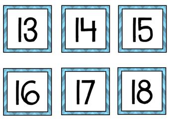 {{FREEBIE}} Calendar Numbers!
