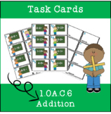 **FREEBIE** 1st Grade Addition Task Cards- 1.OA.C6