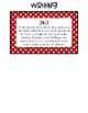 *FREEBIE* 2nd Grade Standards Cards for Writing (Georgia Common Core)