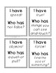 """*FREEBIE* 2nd grade """"I have Who has"""" vocab game (Reading W"""
