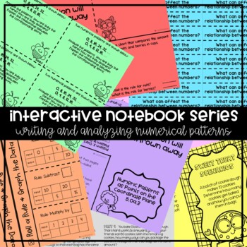 5OA3 Numerical Patterns (Interactive Notebook Series)