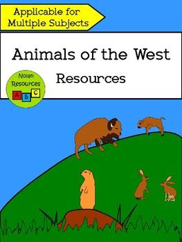 *FREEBIE* Animals in the West - Resource Packet
