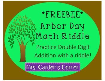 *FREEBIE* Arbor Day Math Riddle