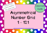 **FREEBIE** Asymmetrical Number Grid