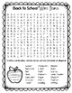 {FREEBIE} Back to School Word Search & Student Interest Survey