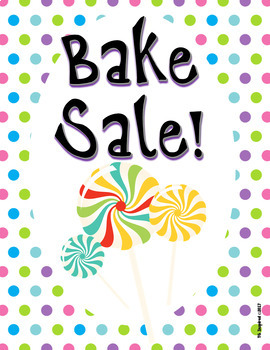 [FREEBIE] Bake Sale Flyer! Ready for Spring!