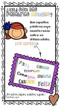 [[FREEBIE]](Basic spanish grammar Vol. IV) PALABRAS AGUDAS, LLANAS Y ESDRÚJULAS