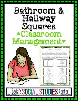 Bathroom & Hallway Passes - Classroom Management