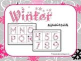 {FREEBIE} 'Berry Icy' Winter Alphabet Cards