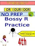 *FREEBIE* - Bossy R Practice - OR, OUR, OOR