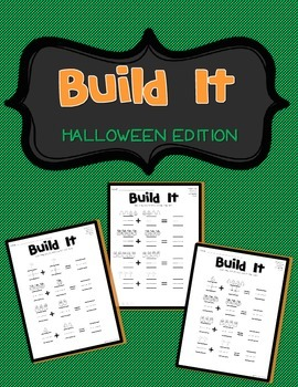 **FREEBIE** Build It! - Halloween Edition